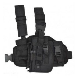 101 INC Holster Cuisse Noir Gaucher (101 Inc) AC-WP355461BK Holster