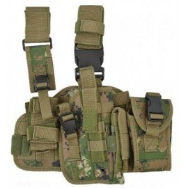 101 INC Holster Cuisse Marpat Droitier (101 Inc) AC-WP355460MP Holster