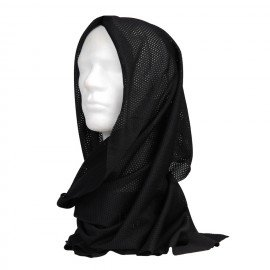 101 INC Black Net Scarf (101 Inc) HA-WP217205 Uniforms
