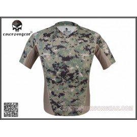 Emerson T-Shirt Camo Fastdry AOR2 (Emerson) HA-EMEM9167R2S Uniformes