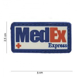 Patch in PVC 3D MedEx Express (101 Inc)