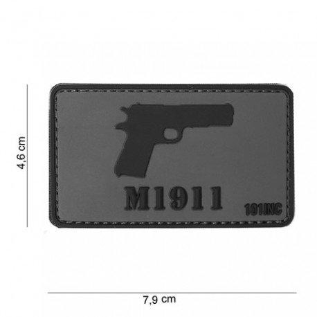 101 INC Patch 3D PVC M1911 (101 Inc) AC-WP4441304047 Patch en PVC