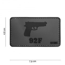 3D PVC Patch M92F (101 Inc)