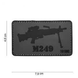 Patch 3D PVC M249 (101 Inc)