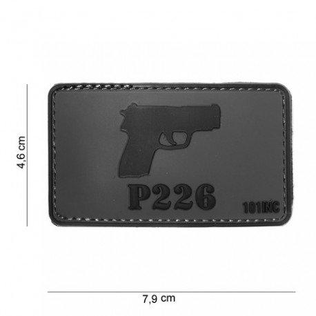 101 INC Patch 3D PVC P226 (101 Inc) AC-WP4441304040 Patch en PVC