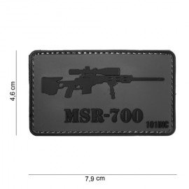 Patch 3D PVC Sniper MSR-700 (101 Inc)