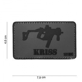 Patch PVC Kriss Vector 3D (101 Inc)