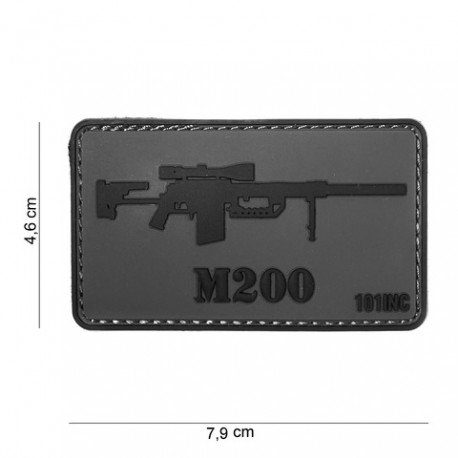 101 INC Patch 3D PVC Sniper Cheytac M200 (101 Inc) AC-WP4441304025 Patch en PVC
