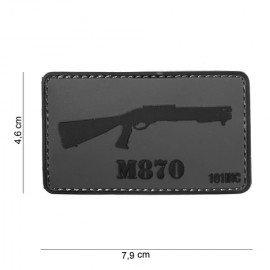 Parche 3D PVC M870 (101 Inc)