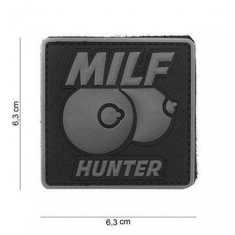 101 INC Patch 3D PVC Milf hunter Gris (101 Inc) AC-WP4441303982 Patch en PVC