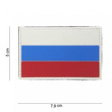 101 INC Patch 3D PVC Drapeau Russie (101 Inc) AC-WP4441303799 Patch en PVC