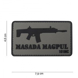 3D PVC Masada Magpul Patch (101 Inc)