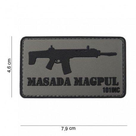 101 INC Patch 3D PVC Masada Magpul (101 Inc) AC-WP4441303762 Patch en PVC
