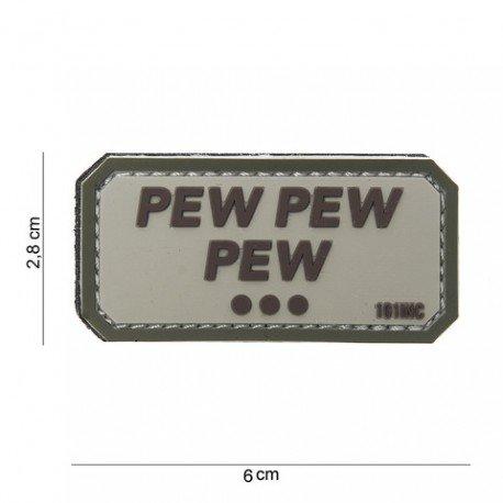101 INC Patch 3D PVC Pew pew pew Desert (101 Inc) AC-WP4441003768 Patch en PVC