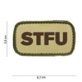 Patch 3D PVC STFU OD (101 Inc)