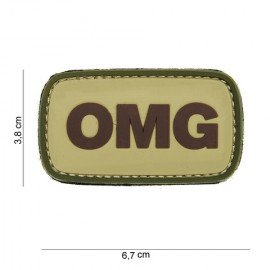 Patch 3D PVC OMG OD (101 Inc)