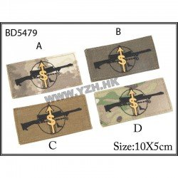 Emerson Patch Sniper OD tissus AC-EMBD5479B Patch en tissu