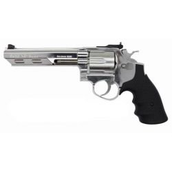 "replique-Revolver Gaz Savaging Bull 6"" Chrome (HFC HG133C1) -airsoft-RE-HFHG133C1"