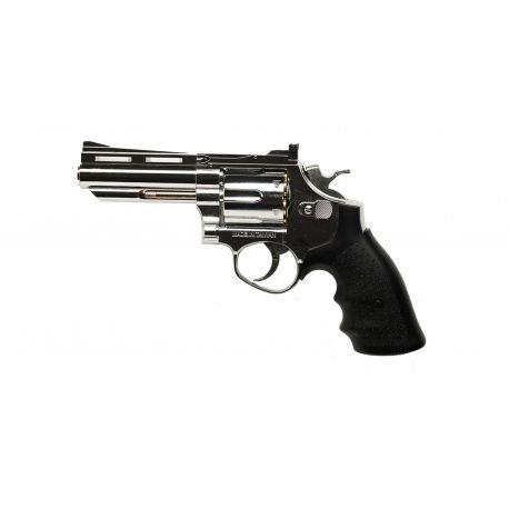 """replique-Revolver Gaz Savaging Bull 4"""" Chrome (HFC HG132C1) -airsoft-RE-HFHG132C1"""