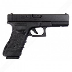 WE WE G17 Gen.3 Noir RE-WEGGB0354TM Pistolet à gaz - GBB