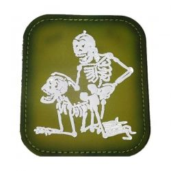 3D-PVC-Patch mit zwei Skeletten (101 Inc)