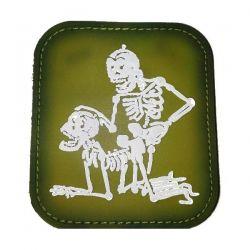 Parche de PVC dos esqueletos OD (101 Inc)