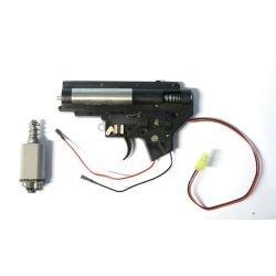CYMA Cyma Gearbox M4 Volle Rückseite mit Motor AC-CMMA001A Interne Teile