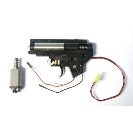 CYMA Cyma Gearbox M4 Arrière Complète w/ Moteur AC-CMMA001A Pieces Internes