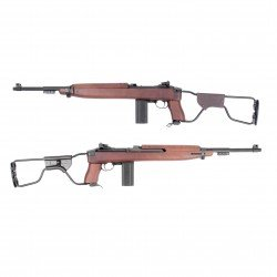 replique-King Arms M1A1 Paratrooper Co2 (KA-AG-126) -airsoft-RE-KAAG126