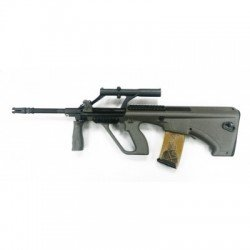 Snow Wolf Snow Wolf Steyr Aug A1 Military Desert RE-SW020ATN Fusil électrique - AEG