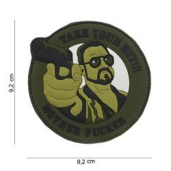 Patch 3D PVC Take Your Hit OD (101 Inc)