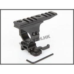 Tactical Ring 30mm w / Long Rail Black (Emerson)