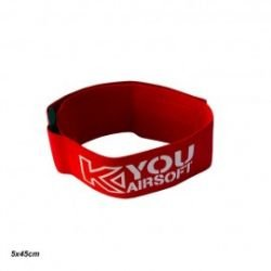 Bracciale Team Patch / Red Deluxe (Kyou)