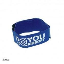 Parche de equipo / Brazalete azul de lujo (Kyou)