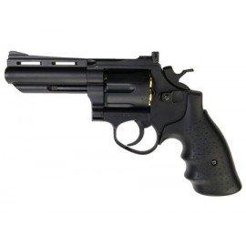 "Revolver Gas Savaging Bull 4 ""Schwarz (HFC HG132) RE-HFHG132 Repliken Revolver"