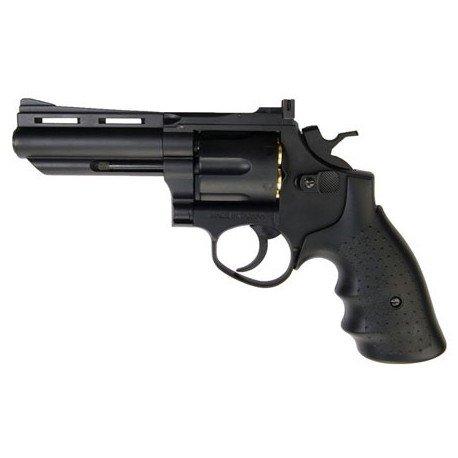 "replique-Revolver Gaz Savaging Bull 4"" Noir (HFC HG132) -airsoft-RE-HFHG132B1"