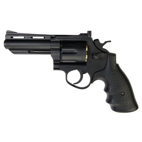 "replique-Revolver Gaz Savaging Bull 4"" Noir (HFC HG132) -airsoft-RE-HFHG132B1"