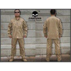 Emerson Combat Uniform Coyote Set (Emerson) HA-EMEM6903 Uniformen