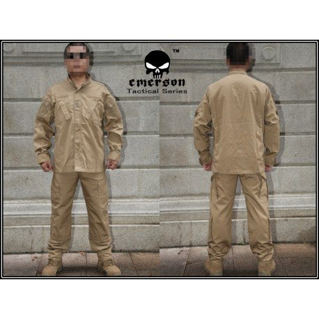 Emerson Uniforme Combat Set Coyote (Emerson) HA-EMEM6903 Uniformes