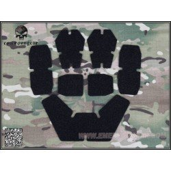 Emerson Set Velcro pour Casque Noir (Emerson) AC-EMEM9230 Casque airsoft
