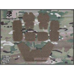 Emerson Velcro Set Casque CP Desert (Emerson) AC-EMEM9230B Equipements