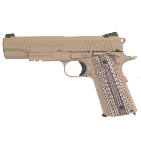 replique-KWC Colt 1911 M45A1 Désert Co2 (Swiss Arms 180521) -airsoft-RE-CB180521