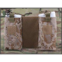Emerson Set of 2 MBITR Pockets for JPC Digital Desert (Emerson) AC-EMBD8333A Soft Pouch