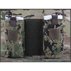 Emerson Set de 2 Poches MBITR pour JPC AOR2 (Emerson) AC-EMBD8333D Poche Molle
