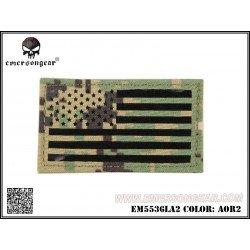 Emerson Emerson Patch Tissu Drapeau USA AOR2 Gauche AC-EMEM5536LA2 Patch en tissu
