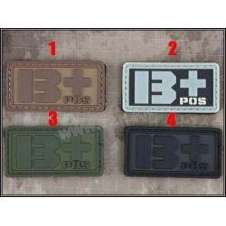 3D Patch PVC Blood B + Grey (Emerson)