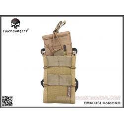 Caricabatterie tascabile Emerson TACO M4 (x2) Desert (Emerson) AC-EMEM6035I