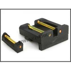 Oranes de visée en Fibre Optique pour Glock