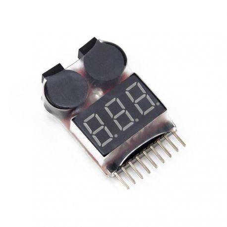 101 INC LiPo Testeur Digial & Buzzer (101 Inc) AC-WP365321 Batteries