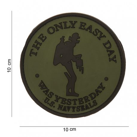 101 INC Patch 3D PVC The Only Easy Day OD (101 Inc) AC-WP4441303538 Patch en PVC